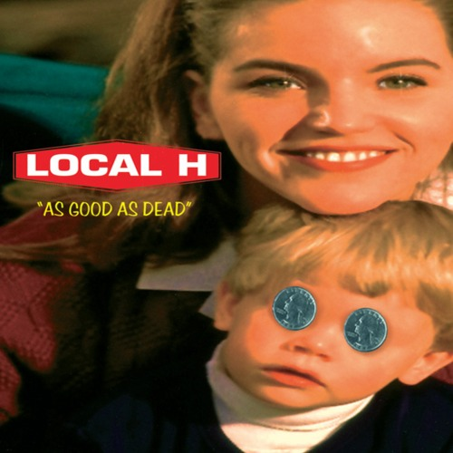 Local H As Good As Dead Solid Red Vinyl